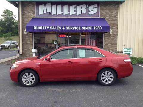 2007 Toyota Camry Hybrid for sale at Miller's Autos Sales and Service Inc. in Dillsburg PA