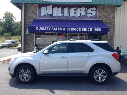 2010 Chevrolet Equinox for sale at Miller's Autos Sales and Service Inc. in Dillsburg PA