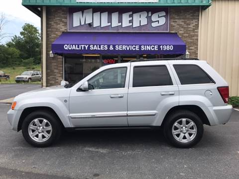 2008 Jeep Grand Cherokee for sale at Miller's Autos Sales and Service Inc. in Dillsburg PA