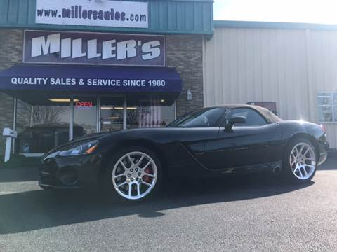 2004 Dodge Viper for sale at Miller's Autos Sales and Service Inc. in Dillsburg PA