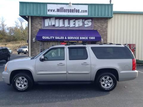 2007 GMC Yukon XL for sale at Miller's Autos Sales and Service Inc. in Dillsburg PA