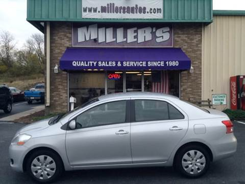 2009 Toyota Yaris for sale at Miller's Autos Sales and Service Inc. in Dillsburg PA