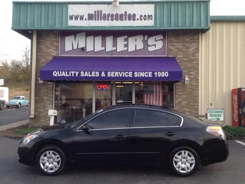 2009 Nissan Altima for sale at Miller's Autos Sales and Service Inc. in Dillsburg PA