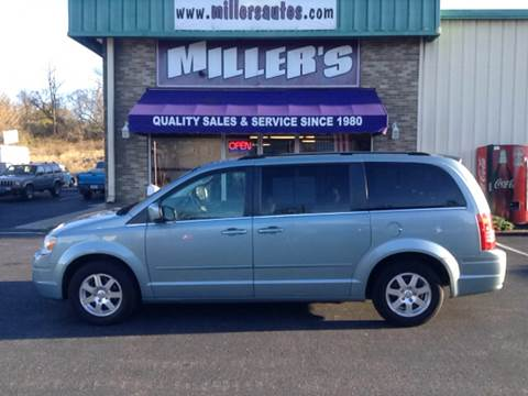 2008 Chrysler Town and Country for sale at Miller's Autos Sales and Service Inc. in Dillsburg PA