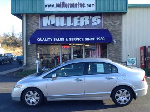 2006 Honda Civic for sale at Miller's Autos Sales and Service Inc. in Dillsburg PA
