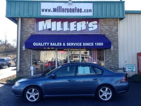 2006 Subaru Legacy for sale at Miller's Autos Sales and Service Inc. in Dillsburg PA