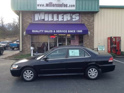 2002 Honda Accord for sale at Miller's Autos Sales and Service Inc. in Dillsburg PA