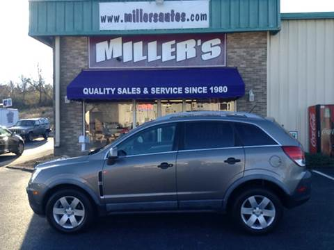 2012 Chevrolet Captiva Sport for sale at Miller's Autos Sales and Service Inc. in Dillsburg PA