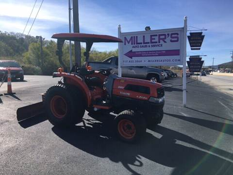 2007 Kubota L3130 for sale at Miller's Autos Sales and Service Inc. in Dillsburg PA