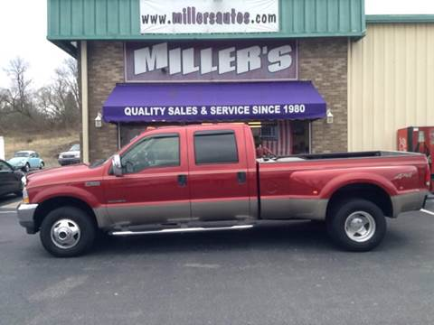 2002 Ford F-350 Super Duty for sale at Miller's Autos Sales and Service Inc. in Dillsburg PA