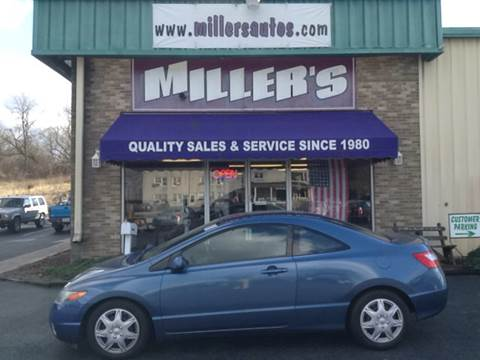 2008 Honda Civic for sale at Miller's Autos Sales and Service Inc. in Dillsburg PA