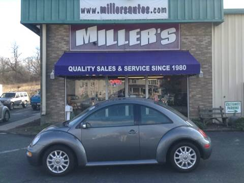 2004 Volkswagen New Beetle for sale at Miller's Autos Sales and Service Inc. in Dillsburg PA