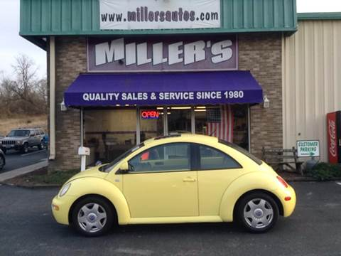 2000 Volkswagen New Beetle for sale at Miller's Autos Sales and Service Inc. in Dillsburg PA