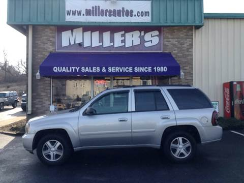 2007 Chevrolet TrailBlazer for sale at Miller's Autos Sales and Service Inc. in Dillsburg PA