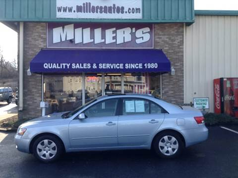 2008 Hyundai Sonata for sale at Miller's Autos Sales and Service Inc. in Dillsburg PA