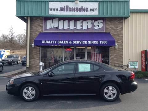 2007 Pontiac Grand Prix for sale at Miller's Autos Sales and Service Inc. in Dillsburg PA