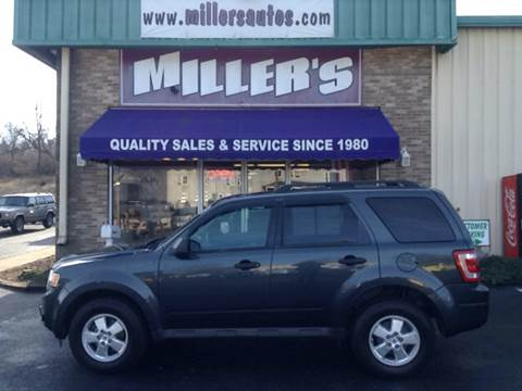 2009 Ford Escape for sale at Miller's Autos Sales and Service Inc. in Dillsburg PA