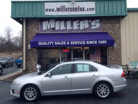 2012 Ford Fusion for sale at Miller's Autos Sales and Service Inc. in Dillsburg PA