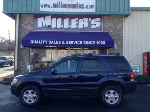 2003 Ford Escape for sale at Miller's Autos Sales and Service Inc. in Dillsburg PA