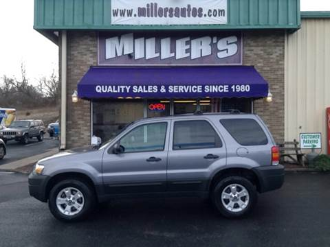 2007 Ford Escape for sale at Miller's Autos Sales and Service Inc. in Dillsburg PA