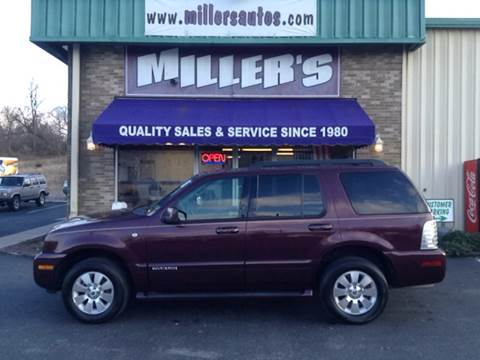 2008 Mercury Mountaineer for sale at Miller's Autos Sales and Service Inc. in Dillsburg PA