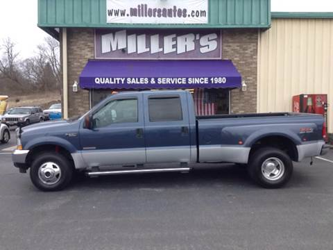 2004 Ford F-350 Super Duty for sale at Miller's Autos Sales and Service Inc. in Dillsburg PA
