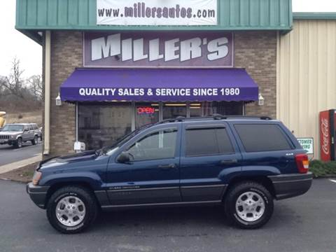 2000 Jeep Grand Cherokee for sale at Miller's Autos Sales and Service Inc. in Dillsburg PA