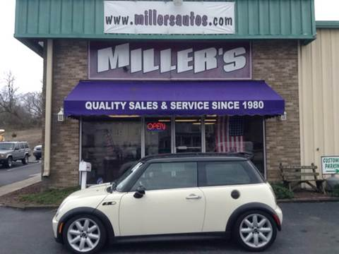 2006 MINI Cooper for sale at Miller's Autos Sales and Service Inc. in Dillsburg PA