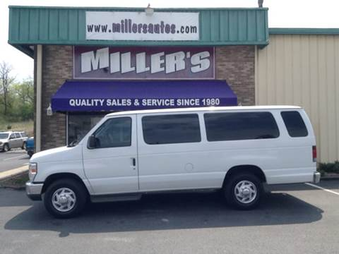 2012 Ford E-Series Wagon for sale at Miller's Autos Sales and Service Inc. in Dillsburg PA