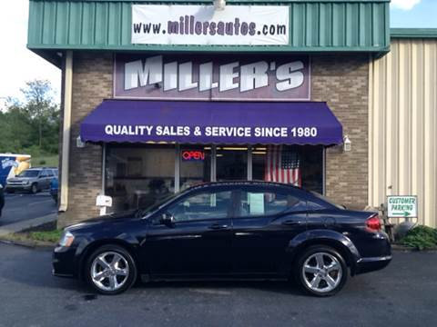 2011 Dodge Avenger for sale at Miller's Autos Sales and Service Inc. in Dillsburg PA