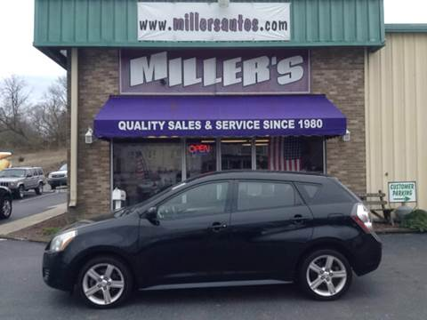 2010 Pontiac Vibe for sale at Miller's Autos Sales and Service Inc. in Dillsburg PA