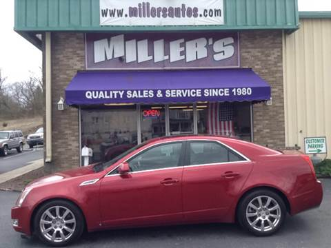 2008 Cadillac CTS for sale at Miller's Autos Sales and Service Inc. in Dillsburg PA