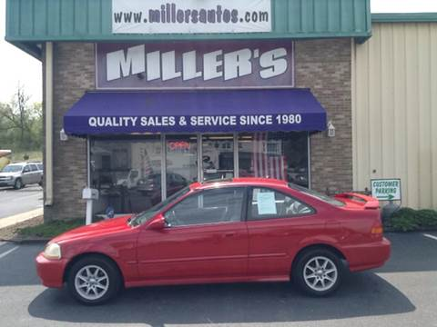 1998 Honda Civic for sale at Miller's Autos Sales and Service Inc. in Dillsburg PA