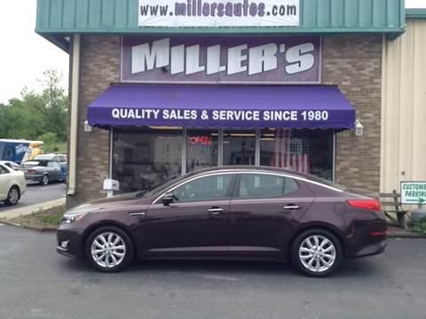 2014 Kia Optima for sale at Miller's Autos Sales and Service Inc. in Dillsburg PA