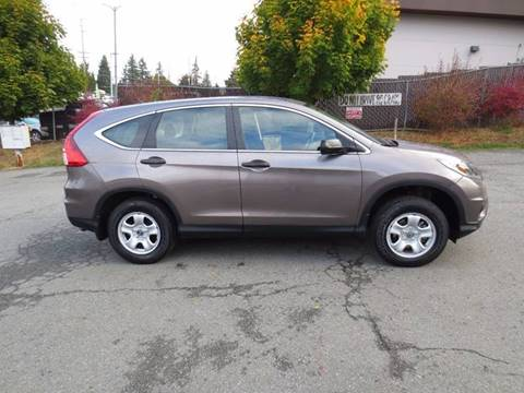 2015 Honda CR-V for sale in Lynnwood, WA