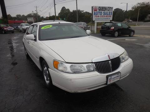 2001 Lincoln Town Car for sale in Charlotte, NC