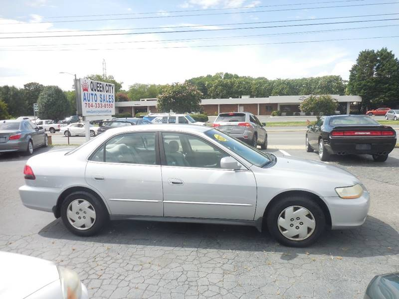 2002 honda accord lx v 6 4dr sedan in charlotte nc queen city auto