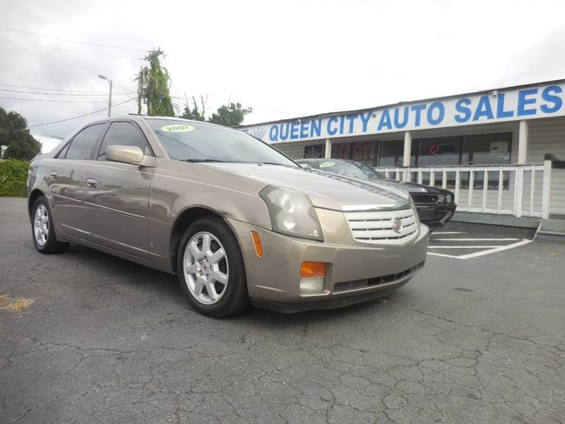 2007 Cadillac Cts 4dr Sedan 36l V6 In Charlotte Nc Queen City