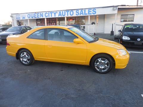 Used 2002 Honda Civic For Sale In North Carolina Carsforsalecom