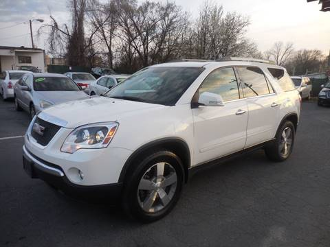 2010 GMC Acadia for sale in Charlotte, NC