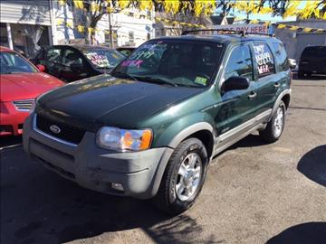 2002 Ford Escape for sale in Newark, NJ