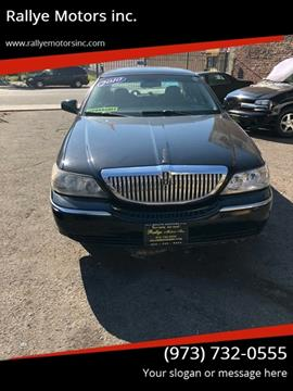 Used Lincoln Town Car For Sale In New Jersey Carsforsale Com