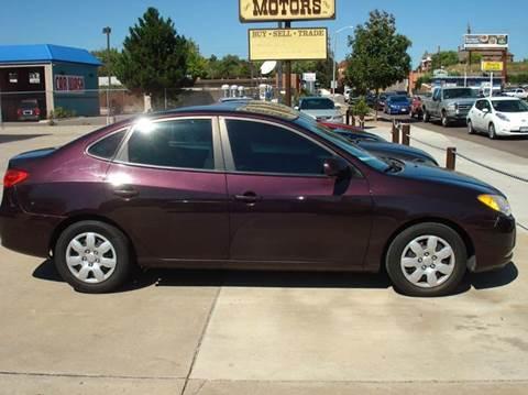 2009 Hyundai Elantra for sale at Frontier Motors Ltd in Colorado Springs CO