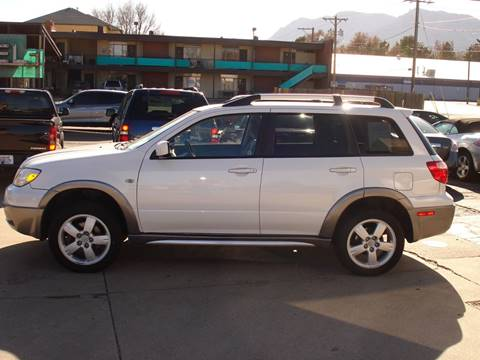 2005 Mitsubishi Outlander for sale in Frontier Motors Ltd, CO