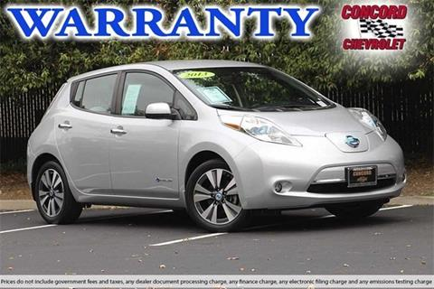 2013 Nissan LEAF for sale in Concord, CA
