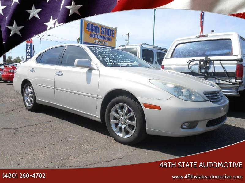 2004 Lexus ES 330 For Sale At 48TH STATE AUTOMOTIVE In Mesa AZ