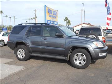 2004 Toyota 4Runner for sale in Mesa, AZ