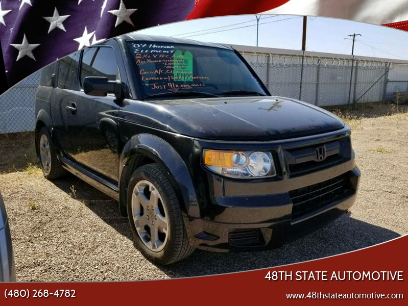 2007 Honda Element For Sale At 48TH STATE AUTOMOTIVE In Mesa AZ