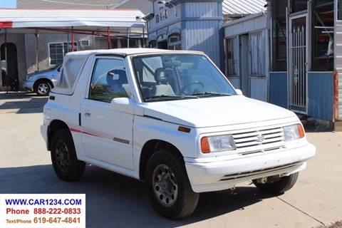 1991 Suzuki Sidekick For Sale In El Cajon CA
