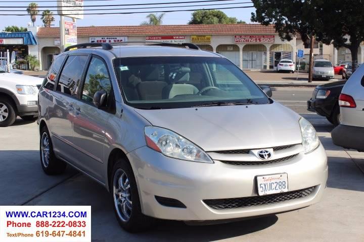 Toyota Sienna LE Passenger In El Cajon CA Car Inc - 2006 sienna